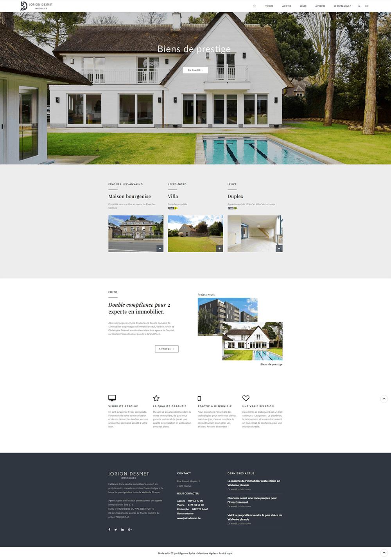 Agence immobilière Belgique